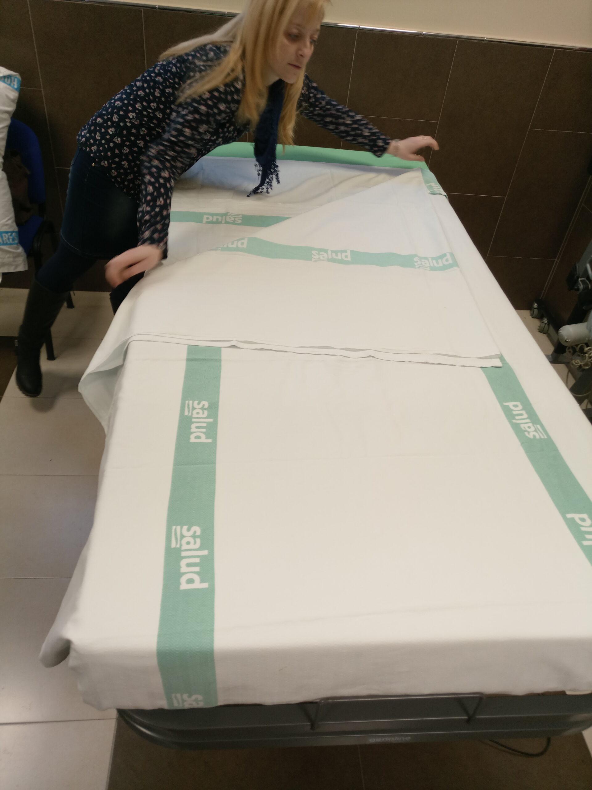 Técnica hacer camas