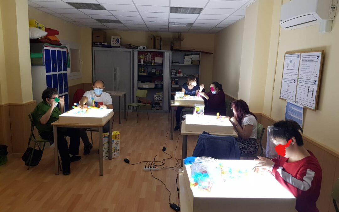 Comenzamos la formación en alternancia en los Centros de Día y Ocupacionales de Kairós